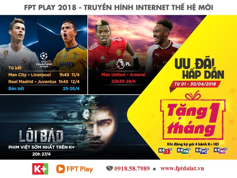 FPT Play Box 2018- fpt đà lạt