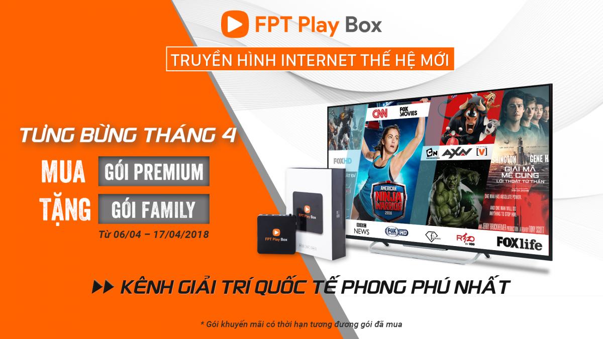 FPT Play Box - Truyền hình internet thế hệ mới