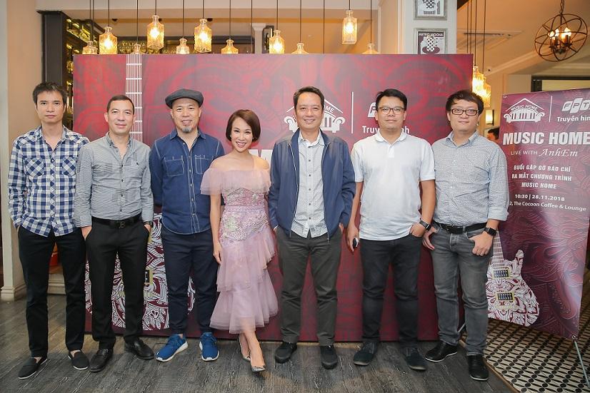 Truyền hình FPT ra mắt chuỗi chương trình âm nhạc Music Home- truyền hình fpt đà lạt