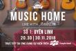 truyền hình fpt ra mắt chuỗi trương trình âm nhạc Music Home số đầu tiên - lắp đặt truyền hình fpt đà lạt